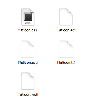 Introducing iconfonts and webfonts - Flaticon